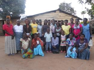 Women at Bible study